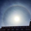 A Splendid Halo Appears at the Holy Mountain Buddha Land