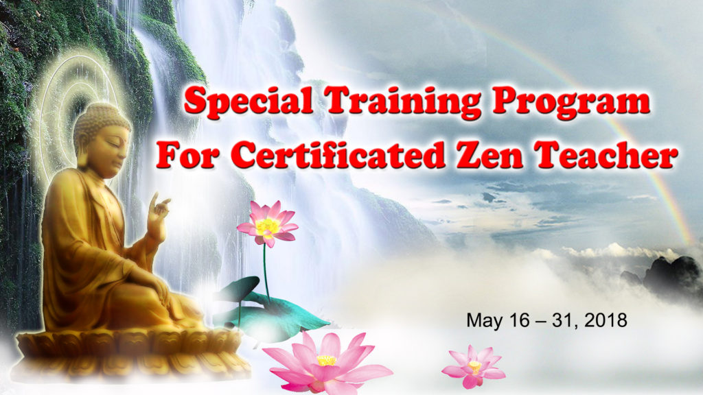 Special Training Program for Certificated Zen Teacher @ Peace Hall | Amsterdam | New York | United States